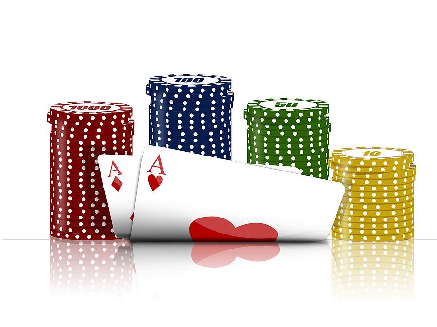 kort och marker Pokersson